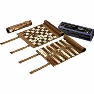 PHILOS Philos Backgammon, schaak- en dam reisset rol