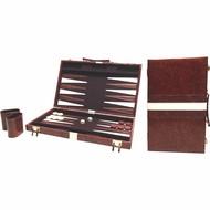 BUFFALO Backgammon bruin 38 x 48 cm