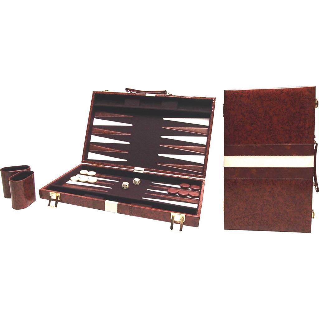Afbeelding van BUFFALO Backgammon bruin 38 x 48 cm
