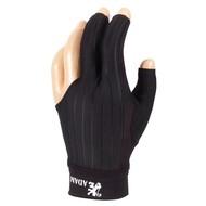 ADAM Biljart handschoen Adam Pro zwart medium