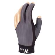 ADAM Biljart handschoen Adam Pro grijs medium
