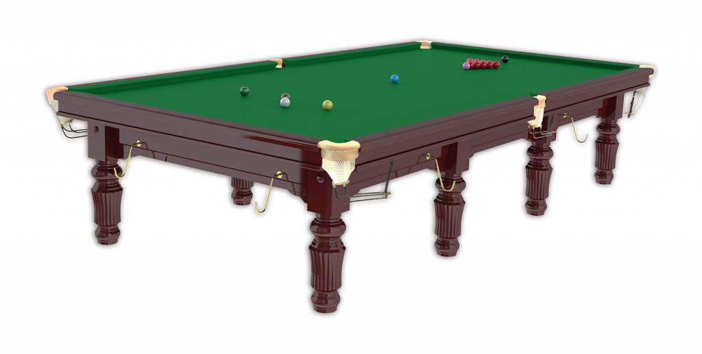 Afbeelding van BUFFALO TABLES Snookertafel Buffalo 12ft Mahonie