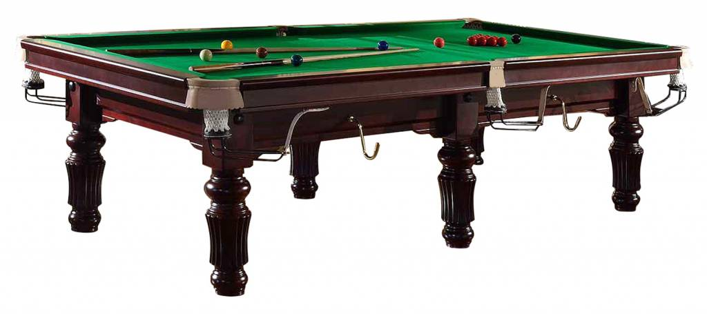 Afbeelding van BUFFALO TABLES Snookertafel Buffalo 10ft Mahonie