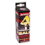 BUFFALO Tafeltennisballen Buffalo Hobby 1* 3st. cellfree