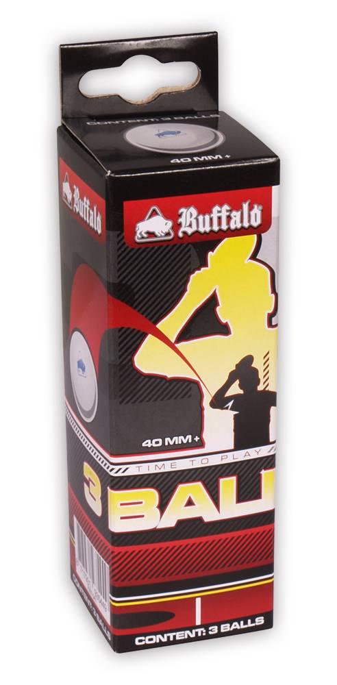 Afbeelding van BUFFALO Tafeltennisballen Buffalo Hobby 1* 3st. cellfree