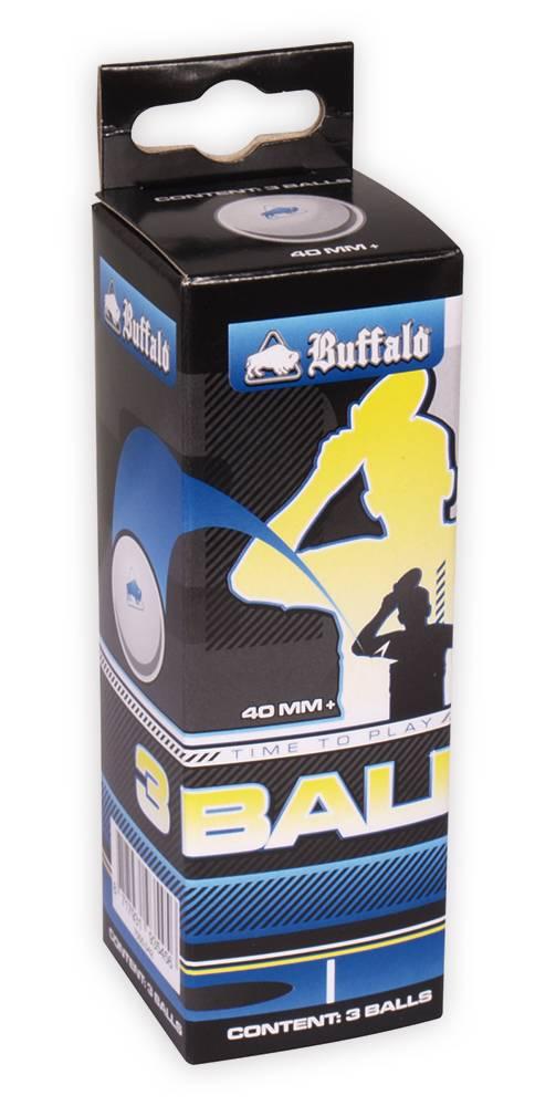 Afbeelding van BUFFALO Tafeltennisballen Buffalo Competitie 3* 3st.