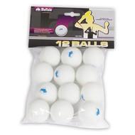 BUFFALO Tafeltennisballen Buffalo Hobby Outdoor 12st.