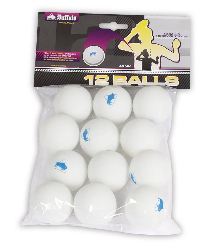 Afbeelding van BUFFALO Tafeltennisballen Buffalo Hobby Outdoor 12st.