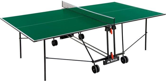 Afbeelding van BUFFALO Tafeltennistafel Buffalo Basic Indoor groen