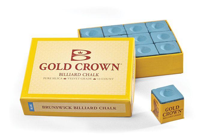 Afbeelding van Brunswick Biljartkrijt Brunswick blauw 12 stuks