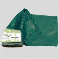 Afdekzeilen Tarpaulin thin green various sizes