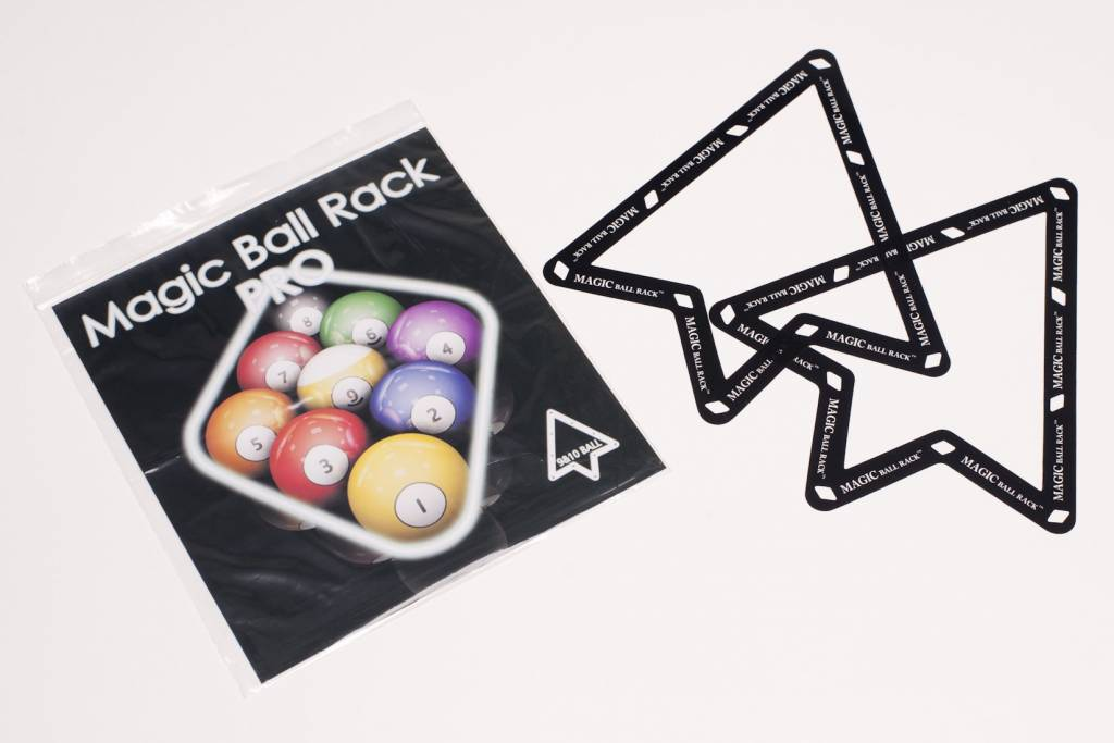 Afbeelding van Triangels en balschalen Magic ball rack pro 9 & 10 ball