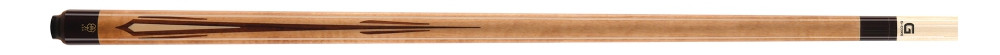 Afbeelding van McDermott McDermott CRM233 Walnut/Maple/inlay carom (Gewicht: 520 gram)