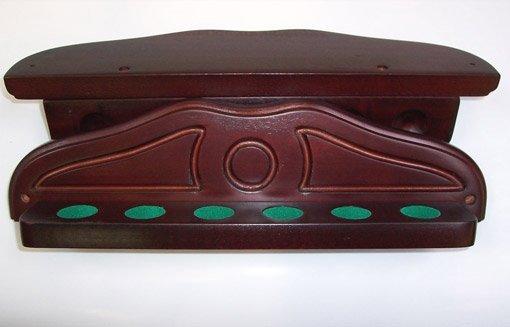 Afbeelding van wandrek Deluxe mahonie voor 6 keuen
