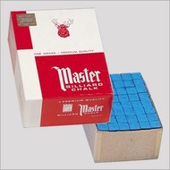 Master Master gros doos 144 krijtjes (Kleur: Prestige/Tournament blue)