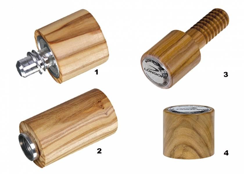 Afbeelding van LONGONI Joint protector Longoni Olive (Uitvoering: 1- VP2-joint MALE)