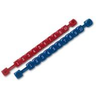 Scoreteller Plastic (Kleur: Zwart)