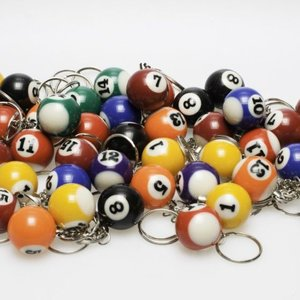 Keychain poolball 25 mm