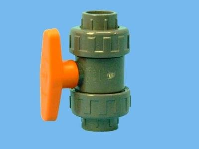 PVC-kugleventil 25 mm