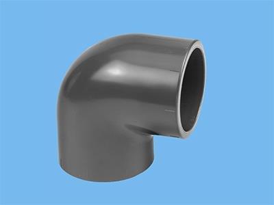 PVC-vinkelstykke 160 X 160  90