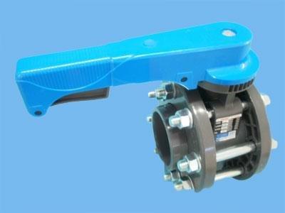 PVC-sommerfugleventil 90 mm