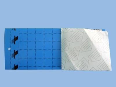 Klæbeplader - blå [10 x 25 cm] 10 stk.