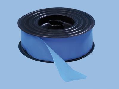 Klæbepladerulle - blå [100 m x 5 cm]