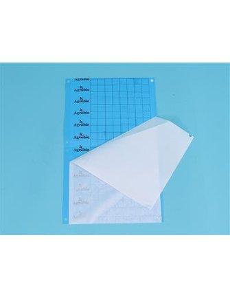 Klæbeplader - blå [40 x 25 cm]
