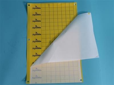 Klæbeplader - gul [40 x 25 cm]