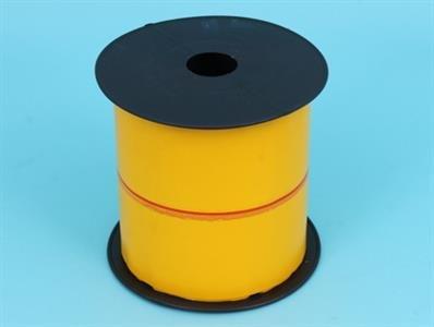 Klæbepladerulle - gul [100 m x 10 cm]