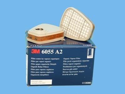 3M organisk dampfilter [A2] (2 stk/sæt)