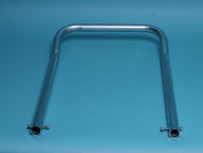 Trykbeslag U-model, galvaniseret stål