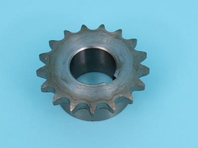 """Tandhjul 1/2"""" x 5/16"""" 17-tands + åbning 30 mm"""
