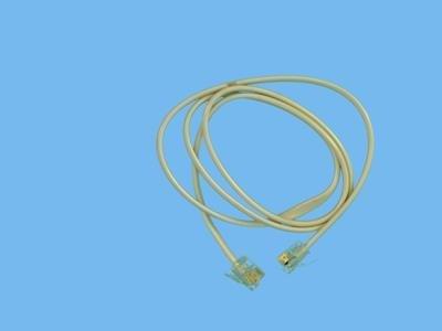 Alli 4a/6p kabel 80cm