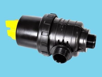 """Filterpotte lang 5/4"""" inkl. ventil"""