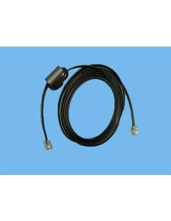 Integro kabel 6A/6P for folie keyboard  250cm sort