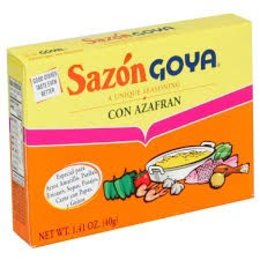 Goya Goya Unique Seasoning Con Azafran