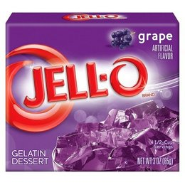 Jell-O Jell-o Grape Gelatin