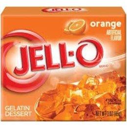 Jell-O Jell-o Orange Gelatin