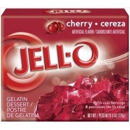 Jell-O Jell-o Cherry Gelatin 170g