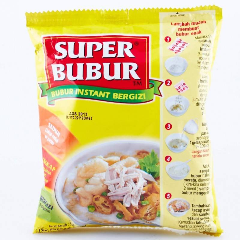 Tokogembira Super Bubur Instant Pap Tokogembira Nl