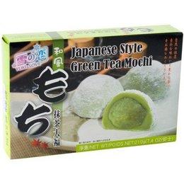 Yuki & Love Rice cake filled with green tea
