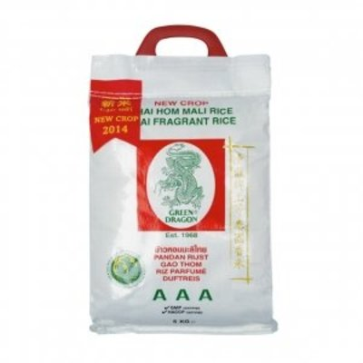 Green Dragon Green Dragon Jasmine rice 5KG