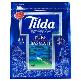Tilda Pure Basmati rijst 5 kg