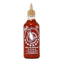 Sriracha Hot Chilli Sauce with extra Garlic 455ml