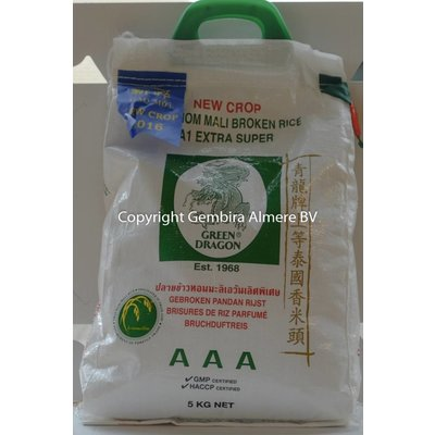 Green Dragon Green Dragon broken grain rice 5 kg