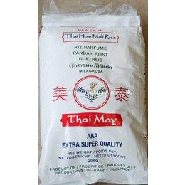 Thai May Jasmine rice 20 kg