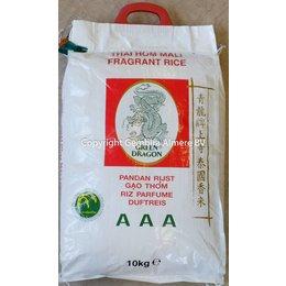 Green Dragon Jasmine rice 10 kg