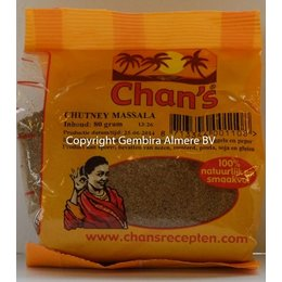 Chan's / Chans Massala curry 80g
