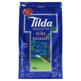 Tilda Pure Basmati rijst 20 kg